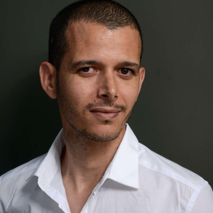 L'écrivain marocain Abdellah Taïa en septembre 2013 à Toronto, au Canada.