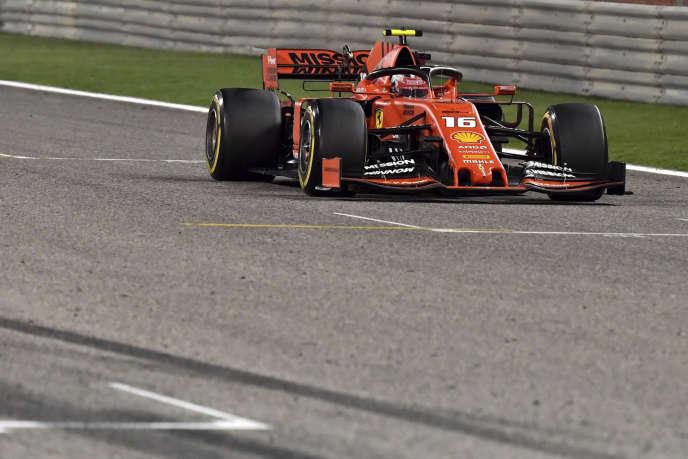 Charles Leclerc a décroché son premier podium, mais a manqué de peu la victoire.