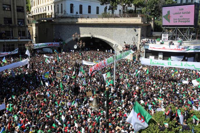 A Alger, le 29 mars.