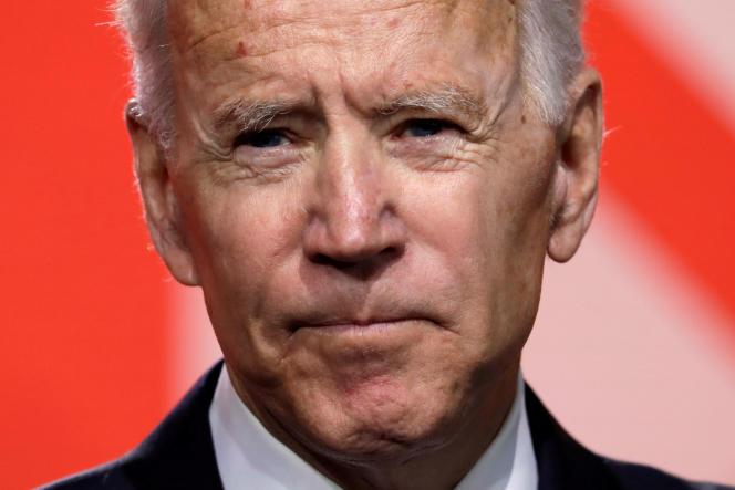 Joe Biden à Washington, le 31 mars.