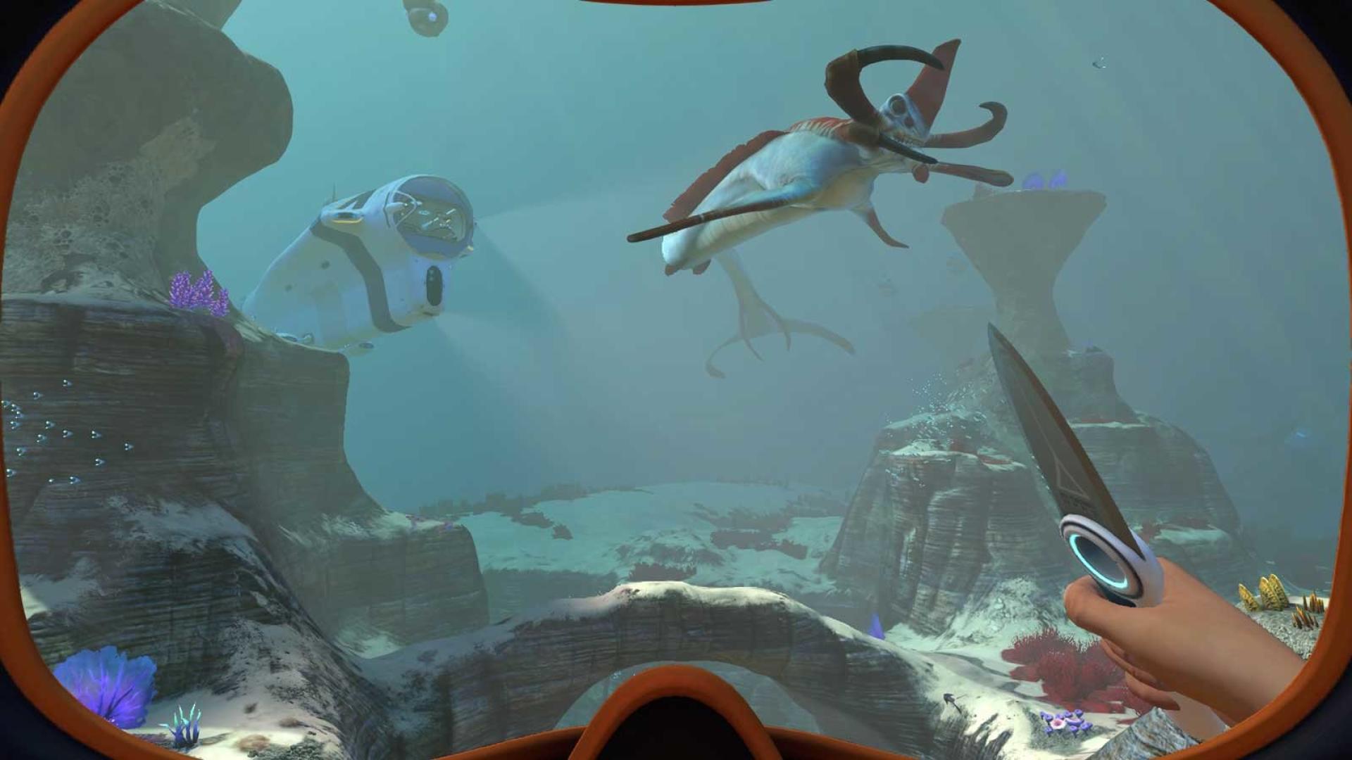 Paradoxe d'un chef-d'oeuvre immersif comme« Subnautica» : il met en valeur les fonds marins et leur écosystème, mais oblige le joueur à se comporter en pilleur pour survivre.
