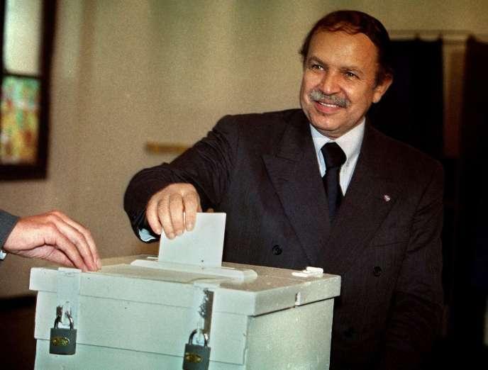 Abdelaziz Bouteflika, le 28 avril 1999.
