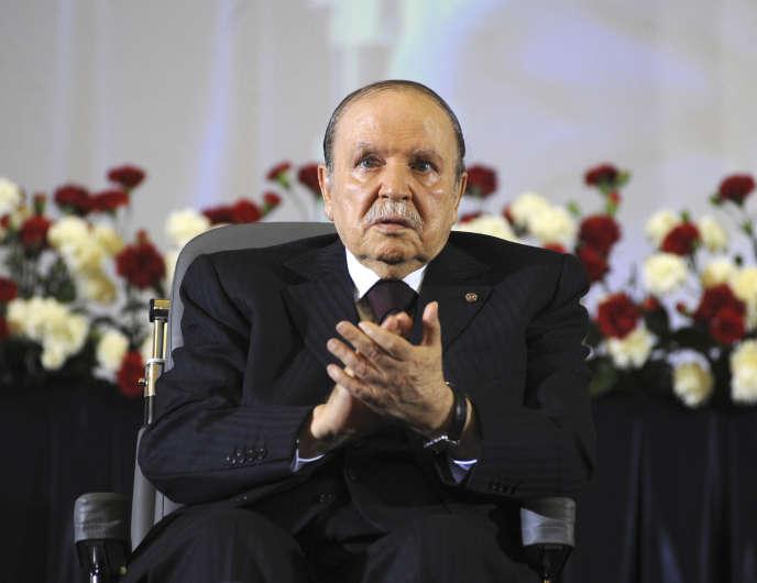 Abdelaziz Bouteflika à Alger, en avril 2014.