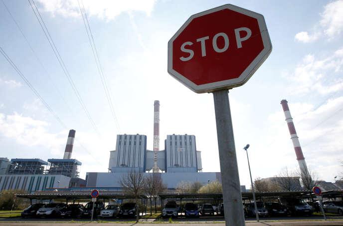 La centrale à charbon de Cordemais près de Nantes (Loire-Atlantique), en France, le 21mars 2019.