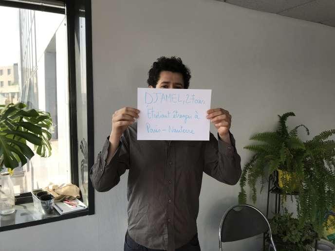 Djamel, 27ans, étudiant, Nanterre