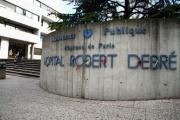 L'hôpital Robert-Debré, dans le 19e arrondissement de Paris.