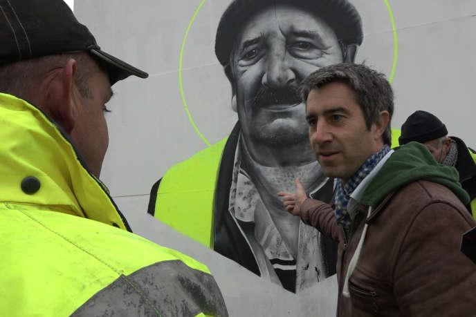 François Ruffin dans son documentaire «J'veux du soleil !», coréalisé avec Gilles Perret.