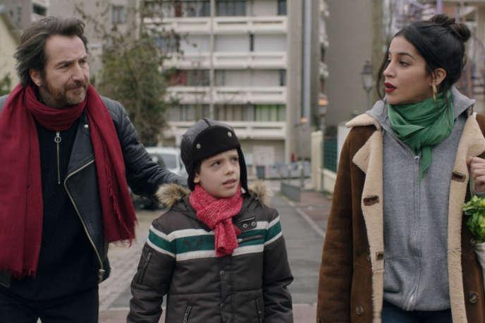 Leïla Bekhti et Edouard Baer dans« La Lutte des classes », de Michel Leclerc.