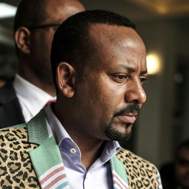 Le premier ministre éthiopien, Abiy Ahmed, à Addis-Abeba, le 25octobre 2018.