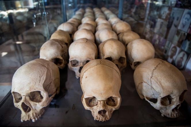 Au Mémorial du génocide, à Kigali, le 22 mars 2019.