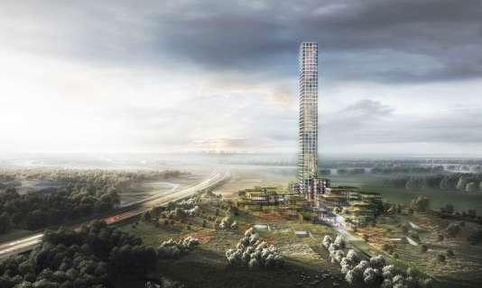 Le projet a été conçu par le cabinet d'architecture Dorte Mandrup.