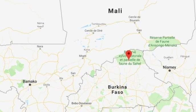 La commune burkinabée d'Arbinda, près de la frontalière avec le Mali.