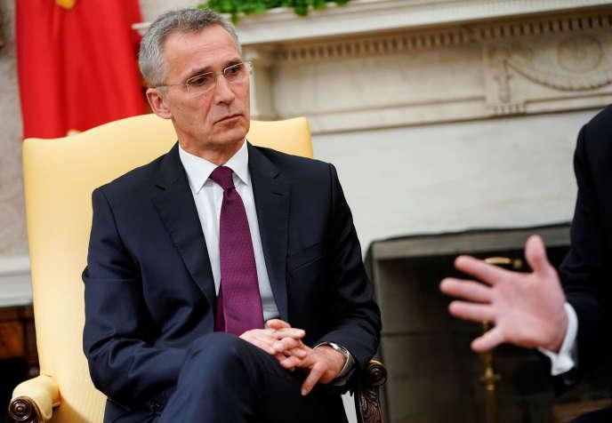 Jens Stoltenberg, le secrétaire général de l'OTAN, le 2 avril à Washington.