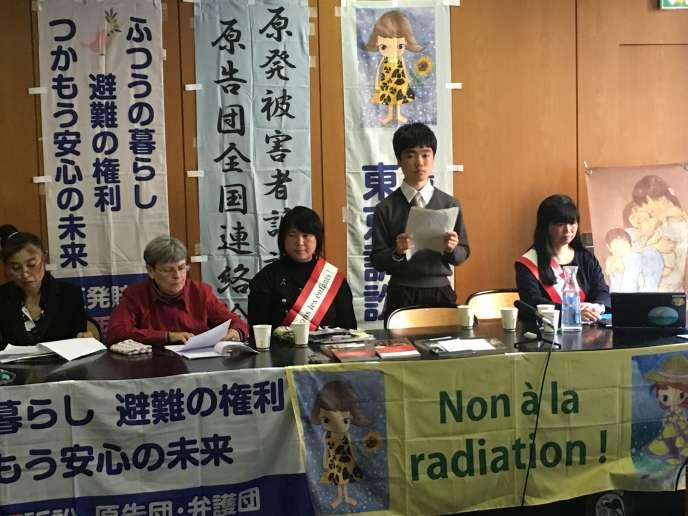 Matsui Kamoshita, mardi 2 avril, à Paris.