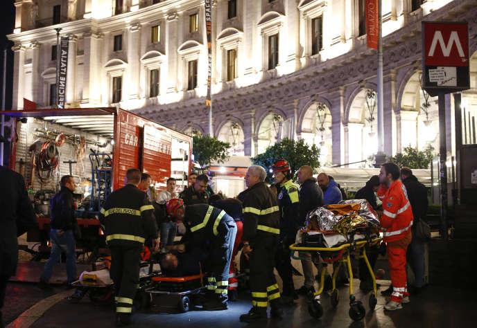 Le soir du 23 octobre 2018, dans la station Repubblica de Rome, un escalier mécanique a cédé blessant plusieurs dizaines de personnes.