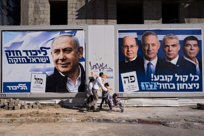 A Tel-Aviv, le 3 avril.