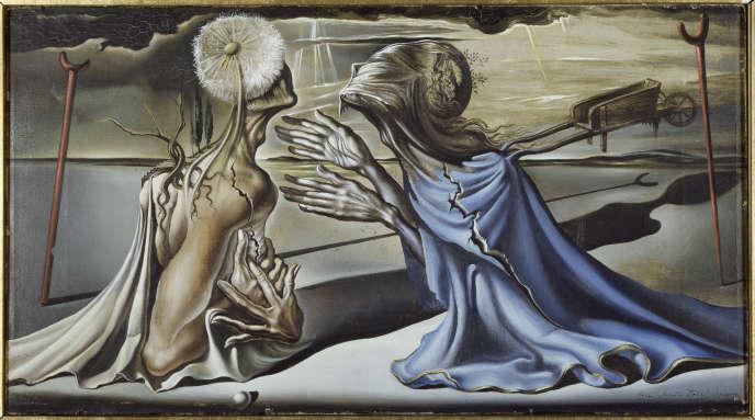 «Tristan fou»,1944.