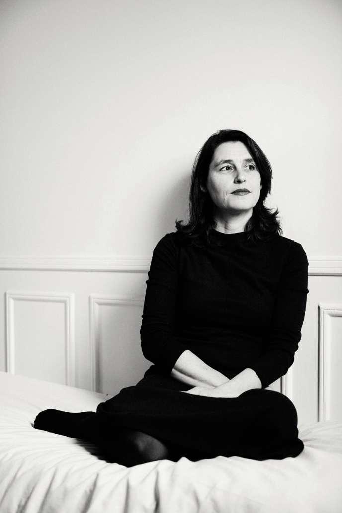 Anne Xiradakis designer et professeure à l'EcoleCamondo à Paris.