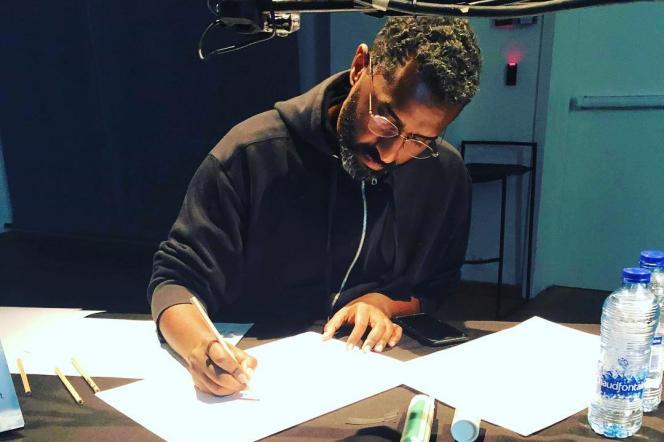 Le caricaturiste soudanaisKhalid Albaih.