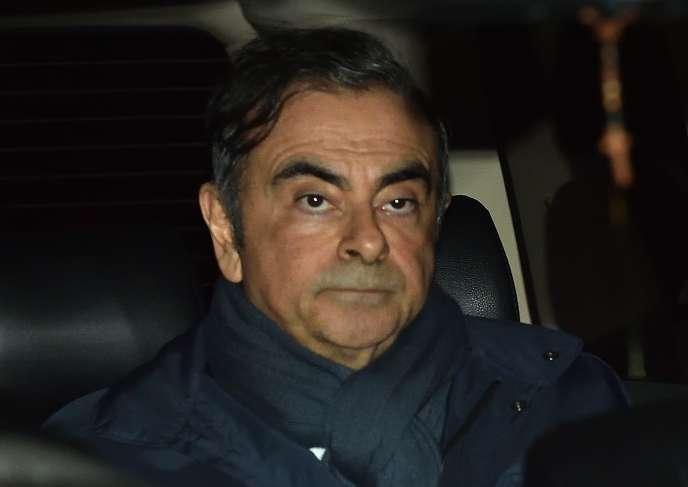 Carlos Ghosn (ici le 3 avril 2019 à Tokyo) est accusé d'abus de confiance aggravé et de fausses déclarations aux autorités pendant son mandat chez Nissan.