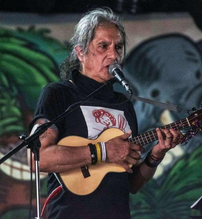 Armando Vega Gil en mars 2018 à Mexico.