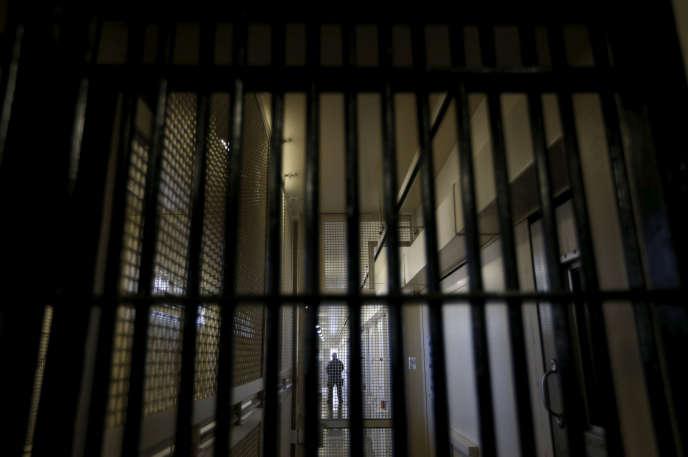 Le couloir de la mort de la prison de San Quentin, en Californie, en 2015.