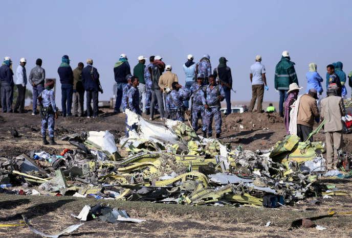Le crash d'Ethipian Airlines en mars, et celui de la compagnie indonésienne Lion Air en octobre 2018 ont conduit il y a trois semaines les autorités à immobiliser toute la flotte des 737 MAX.