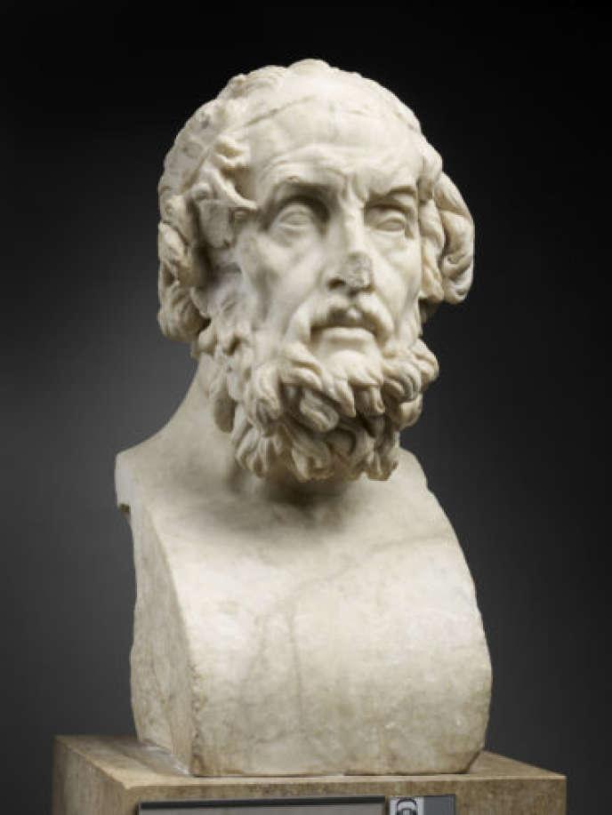 Portrait imaginaire d'Homère, IIe siècle après J.-C..