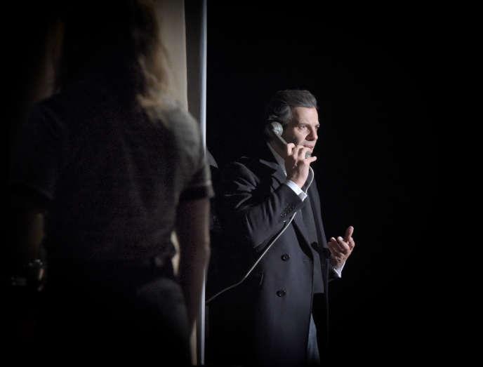 Laurent Lafitte interprète Marcello Mastroianni dans «le Voyage de G.Mastorna».