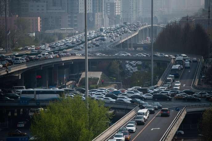 A Pékin, le 4 avril.
