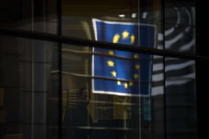 Au Parlement européen à Bruxelles, le 1er avril.
