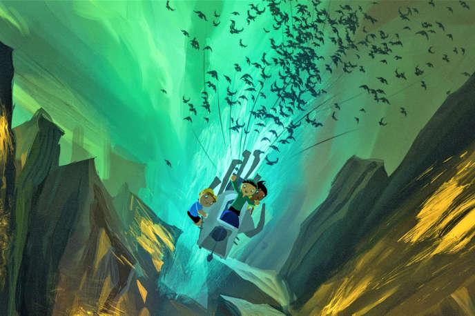 « Tito et les oiseaux», film d'animation brésilien de Gustavo Steinberg, Gabriel Bitar et André Catoto Dias.