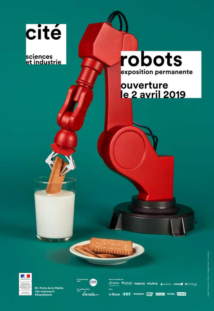 Exposition« Robots», à la Cité des sciences.