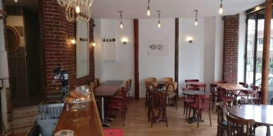 Le Poulpe restaurant-bar.