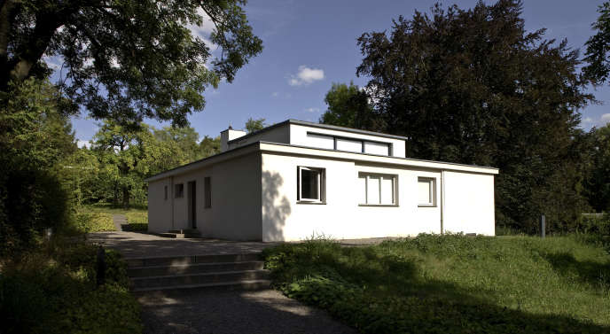 La maison am Horn, dessinée par Georg Muche, à Weimar (Allemagne).