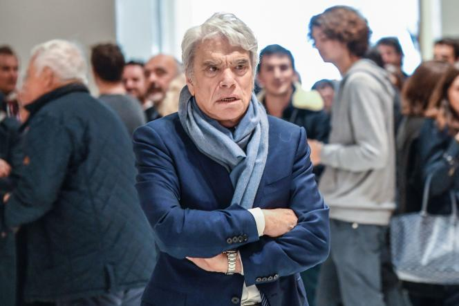 Bernard Tapie lors de son procès à Paris, le 4 avril.