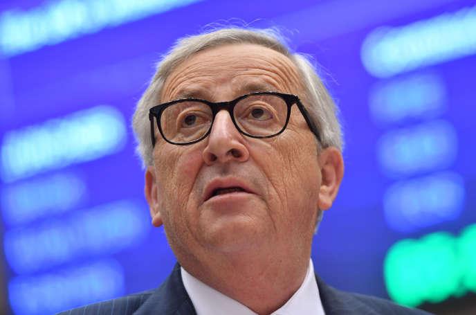 Le président de la Commission européenne, Jean-Claude Juncker, à Bruxelles, le 3 avril.