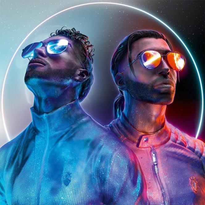 Pochette de l'album «Deux Frères» par PNL.