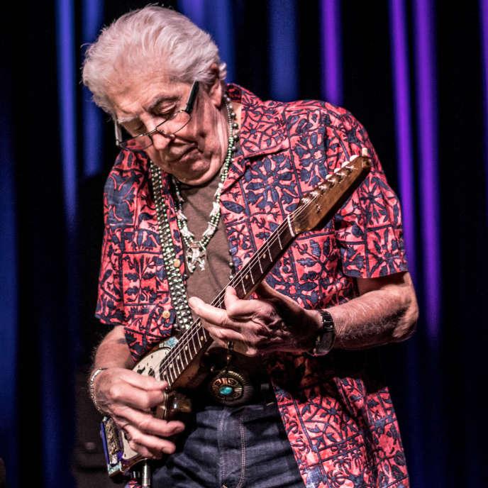Le musicien John Mayall à La Laiterie à Strasbourg, le 2 avril.
