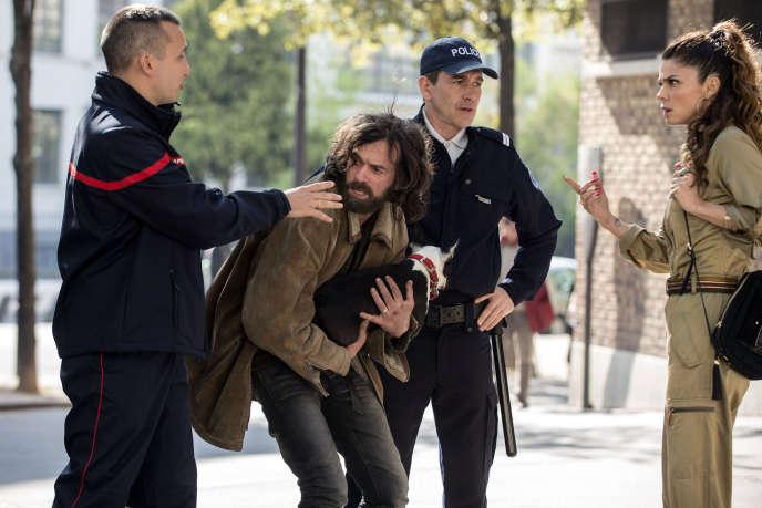 Romain Duris (Vernon Subutex) et Juana Acosta (Pamela Kant) dans la nouvelle série de Canal+,« Vernon Subutex», adaptée de Virginie Despentes.