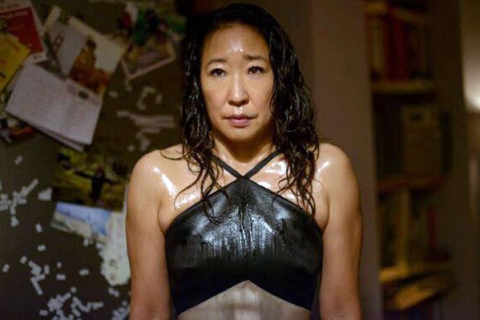 Sandra Oh dans la série« Killing Eve» sur Canal+ Séries.
