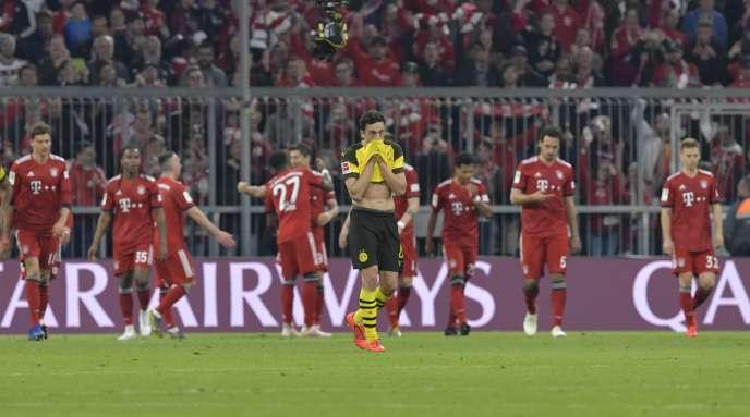 Les joueurs du Bayern Munich ont surclassé ceux du Borussia, samedi en championnat.