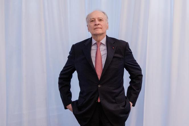 Le PDG de Vinci, Xavier Huillard, à Paris, le 6 février.