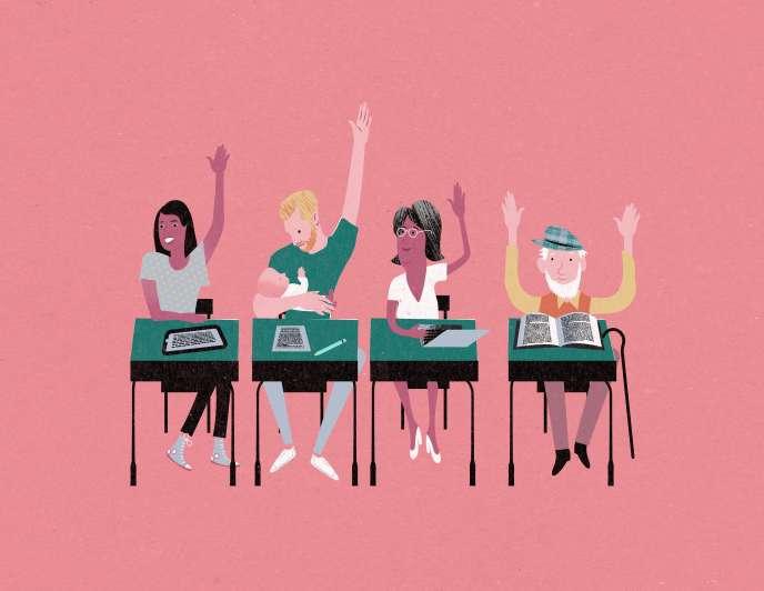 De plus en plus de stages d'orthographe sont proposés par des organismes de formation et financés par les entreprises pour leurs employés.