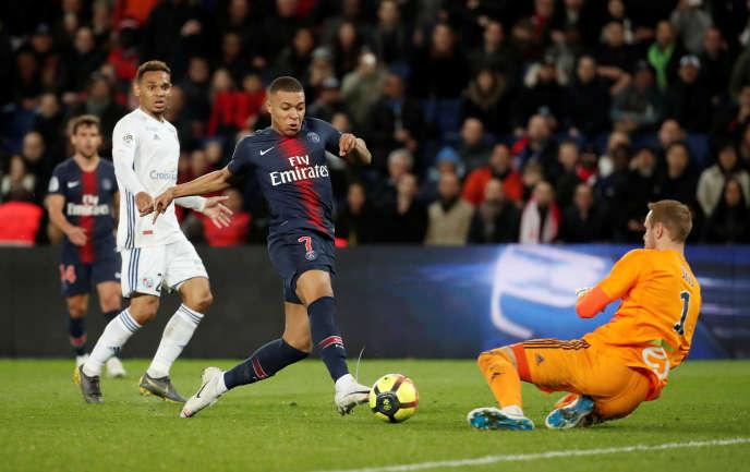 L'entrée en jeu de Kylian Mbappé n'a pas inversé la tendance.