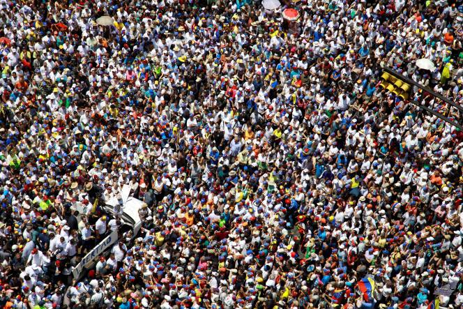 Juan Guaido a appelé à une nouvelle manifestation mercredi.