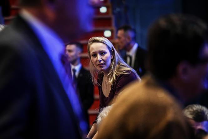 L'ancienne députée du Front national, Marion Maréchal, à Lyon en février 2017.