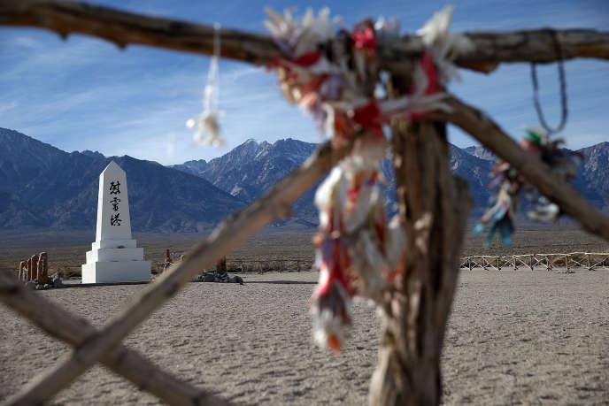 Le camp d'internement de Manzanar, situé près d'Independence (Californie), en 2015.