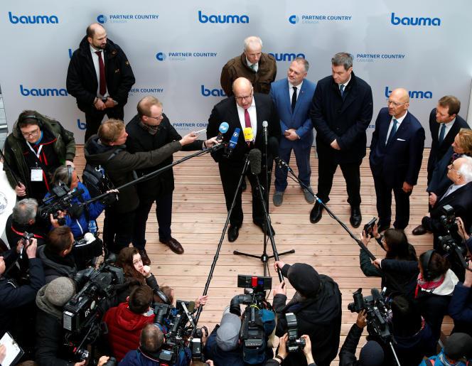 Le ministre alllemand de l'économie, Peter Altermaier, à Munich, lundi 8 avril.