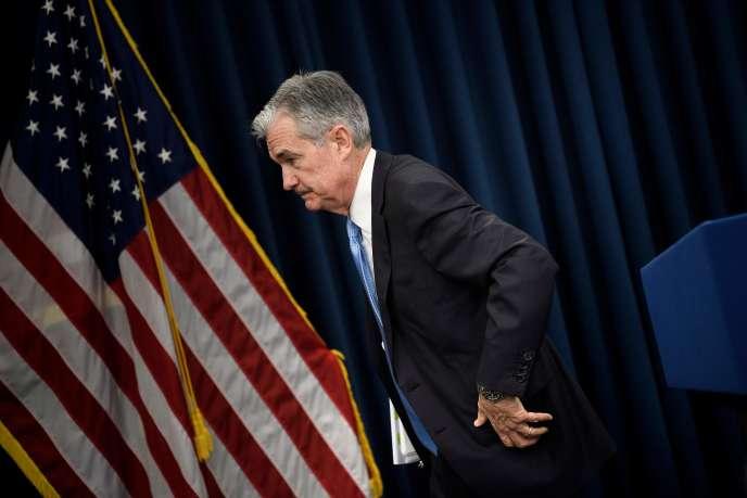 Jerome Powell, président de la banque centrale américaine, à Washington, le 20 mars.